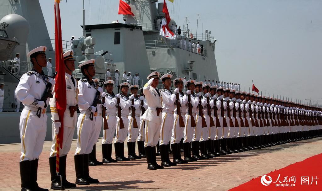 36张图片回顾2009人民海军建军60周年海上大阅兵