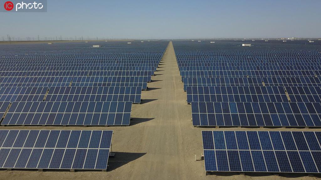 敦煌建成全国最大百万千瓦级光伏发电基地 年发电小时数达5000小时以上【4】