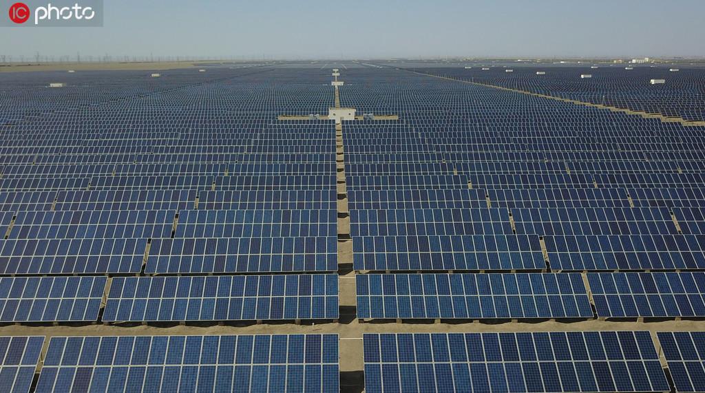 敦煌建成全国最大百万千瓦级光伏发电基地 年发电小时数达5000小时以上【5】