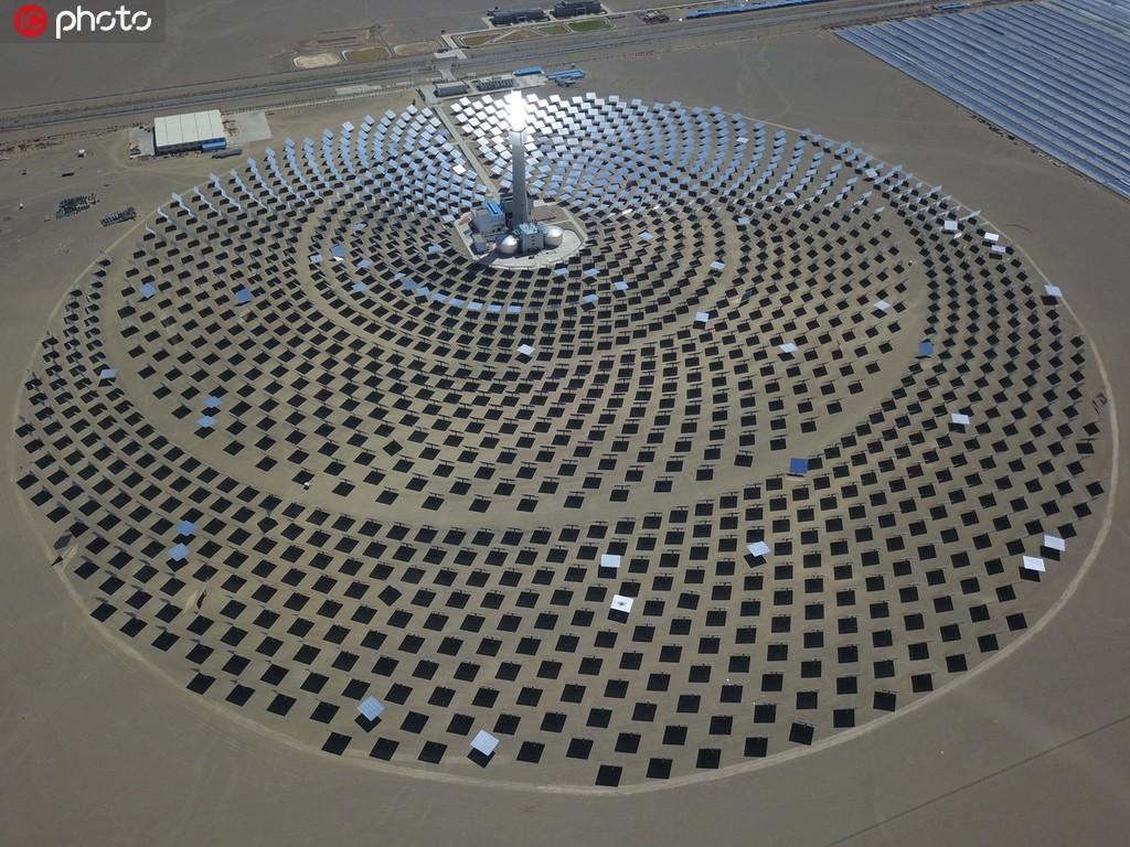 敦煌建成全国最大百万千瓦级光伏发电基地 年发电小时数达5000小时以上【2】