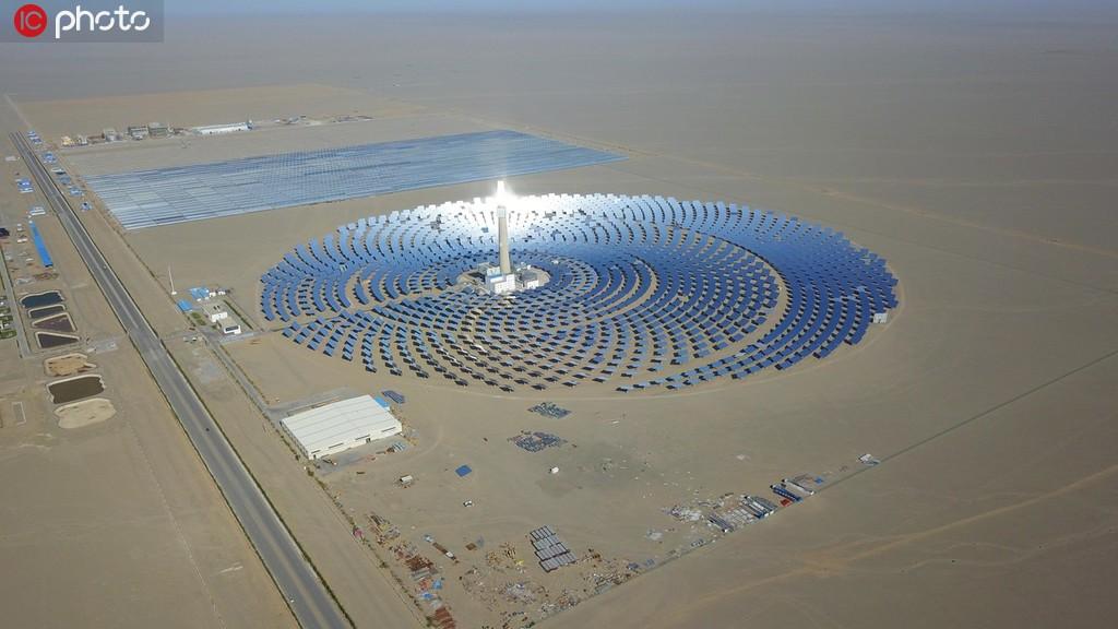 敦煌建成全国最大百万千瓦级光伏发电基地 年发电小时数达5000小时以上【3】