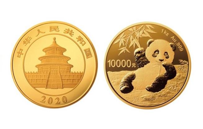 1公斤圆形金质纪念币图案