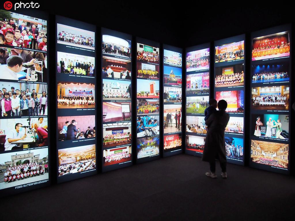 """华侨华人与新中国特展在国博开幕 270件文物讲述""""行远同梦""""【3】"""