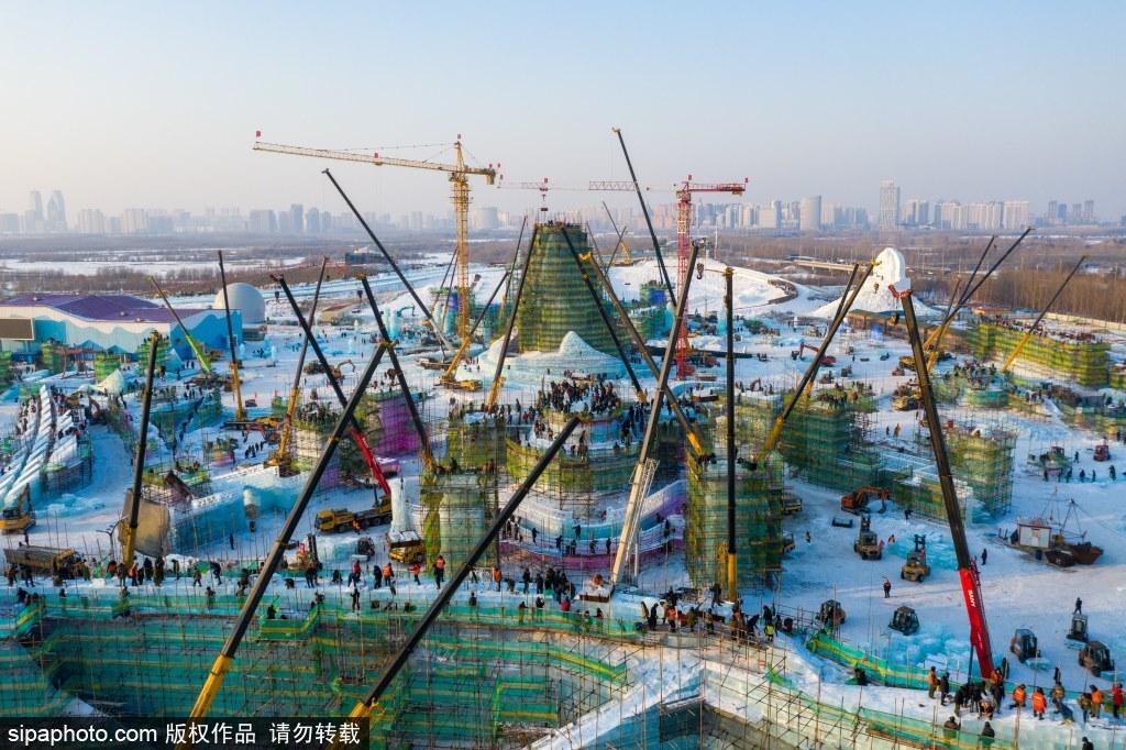 哈尔滨冰雪盛会建设进行时