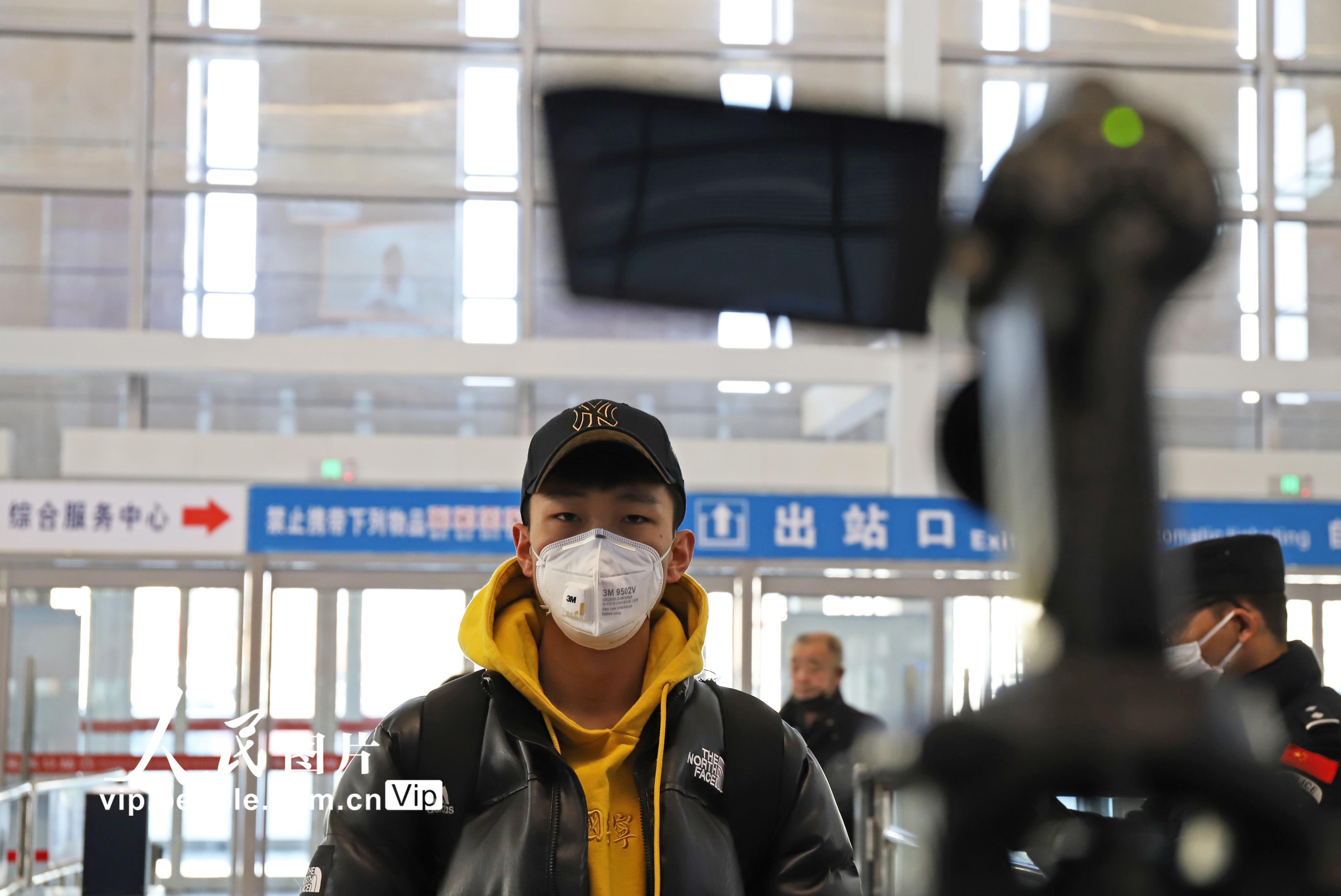 河北张家口:高铁站启用热成像体温测试仪