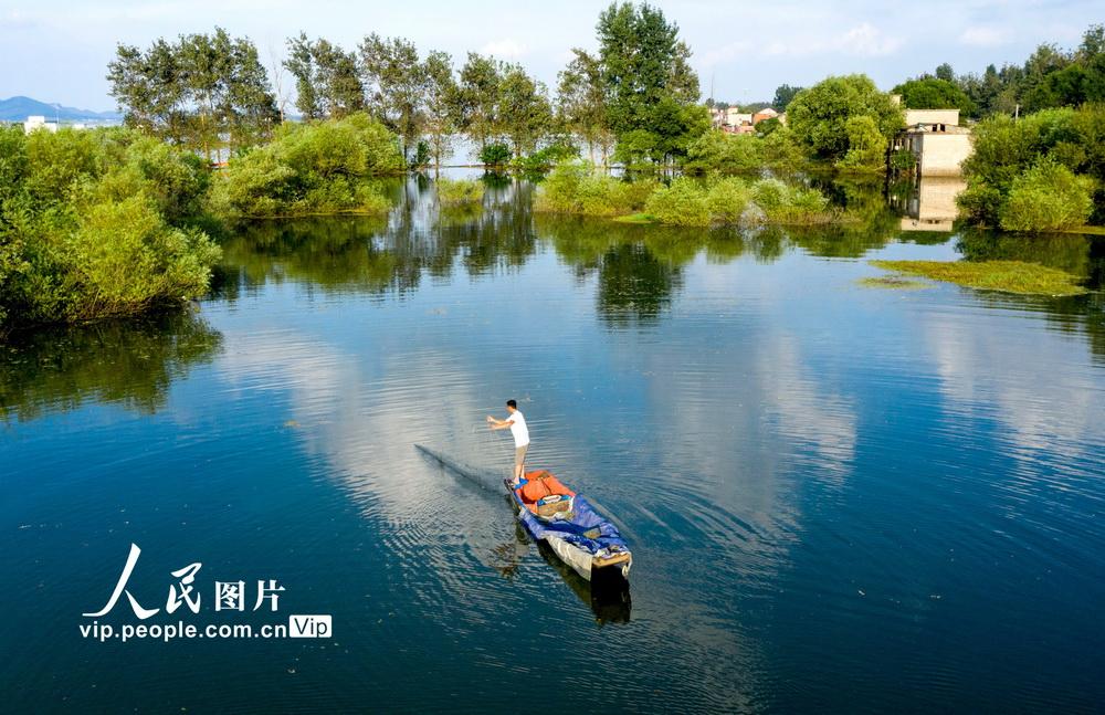 安徽庐江:科学治理水环境 水清岸绿百姓乐
