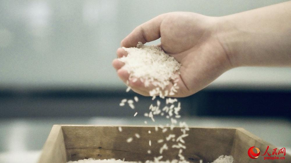 加工完成的大米