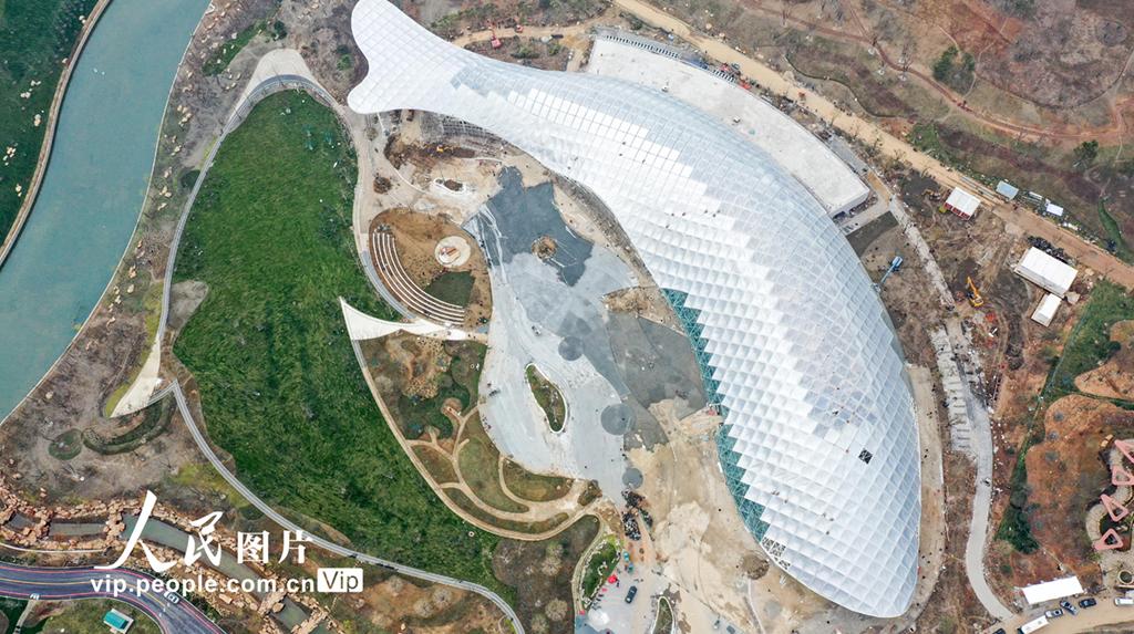 江苏:2021扬州世园会冲刺施工忙