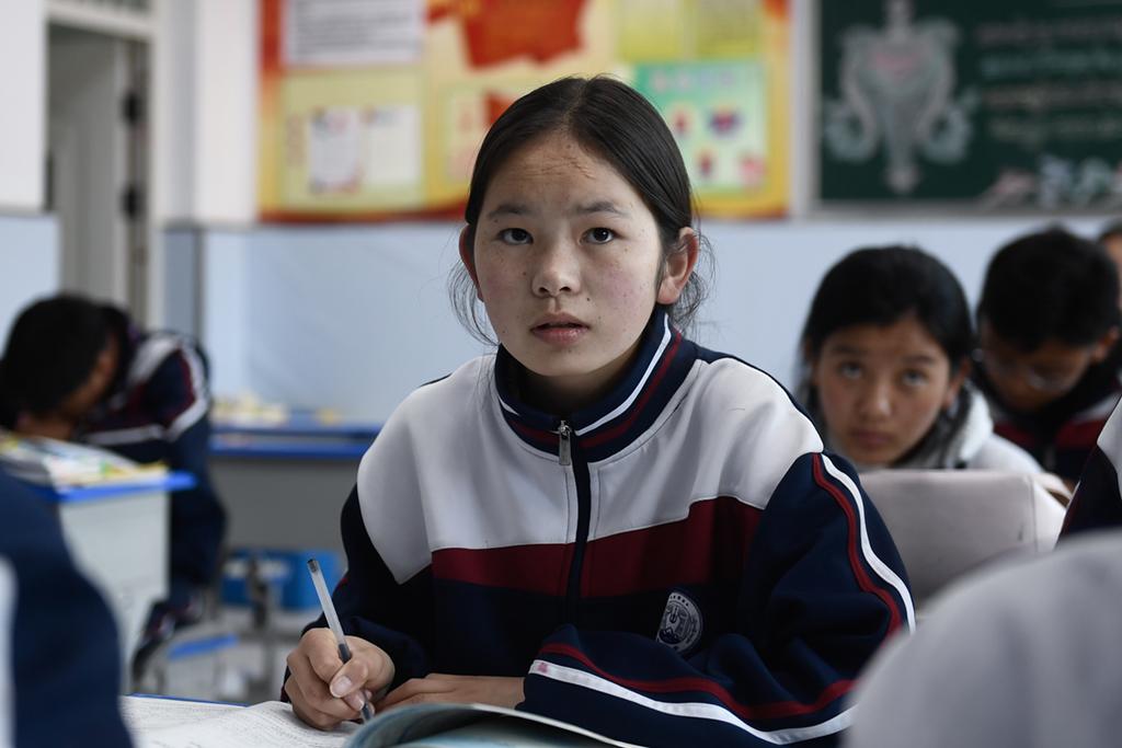 """星辉平台注册:""""我心怀梦想,你给我力量""""——教育援青十周年侧记 (图2)"""