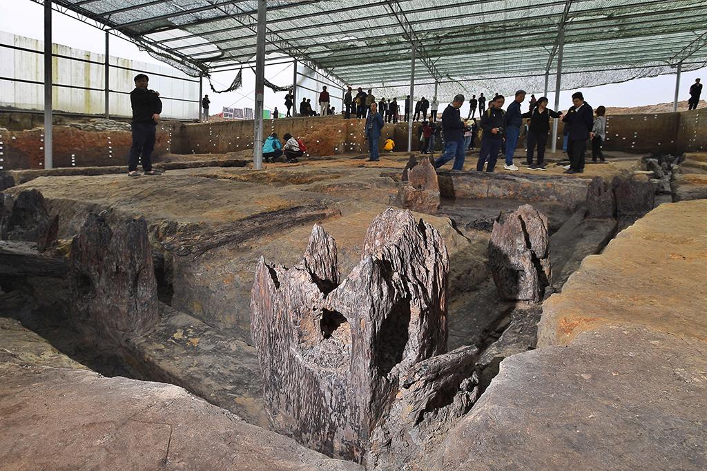 湖南鸡叫城遗址考古:揭露史前完整木构建筑基础【2】