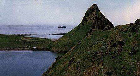 资料图:北方四岛(俄称南千岛群岛)