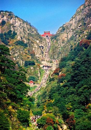 东岳泰山(资料照片)