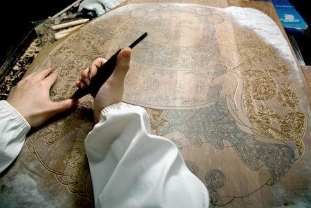 一团和气 古版木刻年画将重现苏州