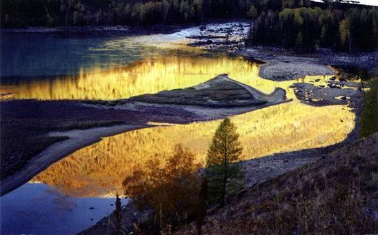 蒙古人的家乡之一【新疆四季】图片
