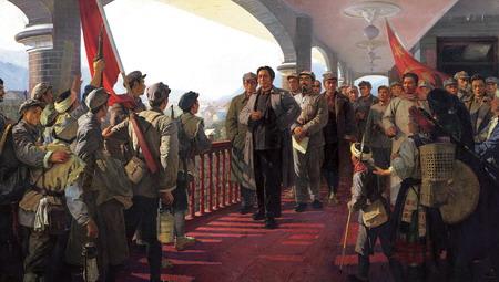 从而确立了毛泽东在红军和中共中央的领导地位图片