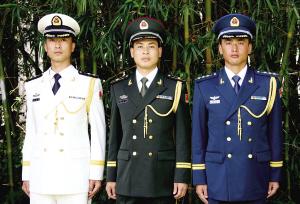 解放军新式军服正式发放