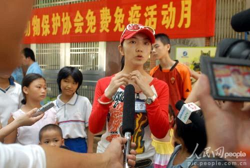 海南省小动物保护协会副会长蔡速明