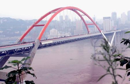 重庆珊瑚长江大桥即将通车图片