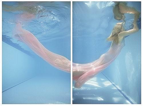 组图:游荡在水底的女模特 - 马来西亚综合新闻网  - 马来西亚综合新闻网