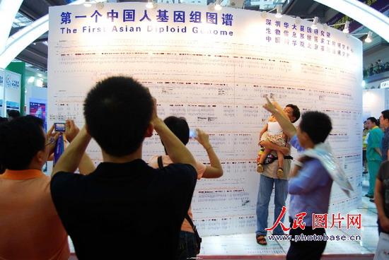 组图:中国人基因组图谱公布