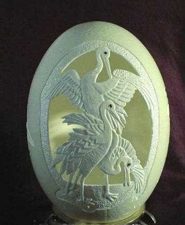 蛋壳雕塑艺术  - 山东豹 - 山东豹的博客
