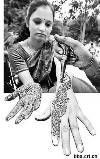 印度最精美的手绘