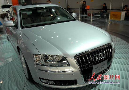 2007广州车展名车展位扫描 奥迪AUDI 图片高清图片