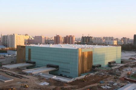 组图:北京五棵松文化体育中心体育馆换新装
