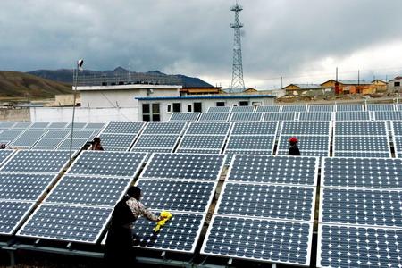 组图:西藏太阳能应用广泛(2)
