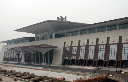 组图:武汉新武昌火车站即将启用