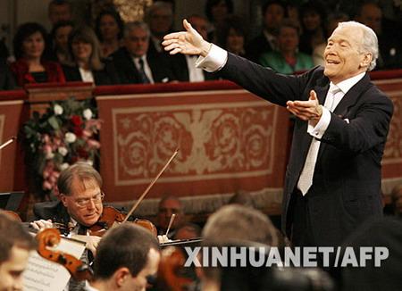 组图:新年音乐会在维也纳金色大厅上演