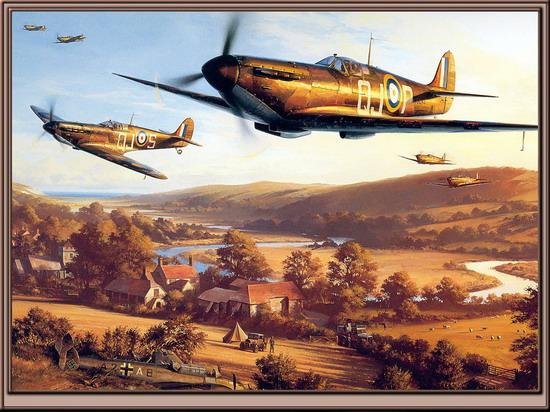 二战时期的飞机格斗