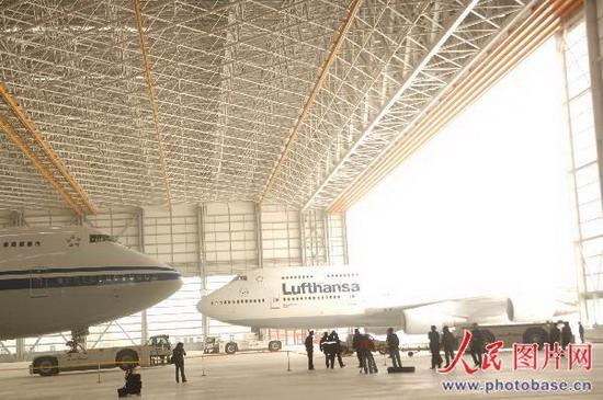 亚洲最大飞机维修机库落户北京