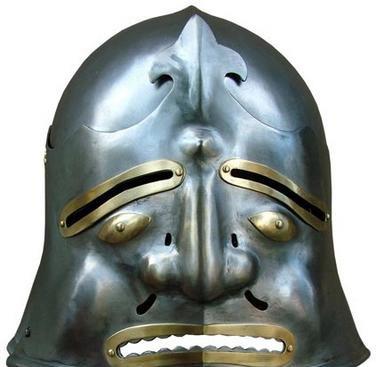 经典:欧洲中世纪骑士头盔大全!