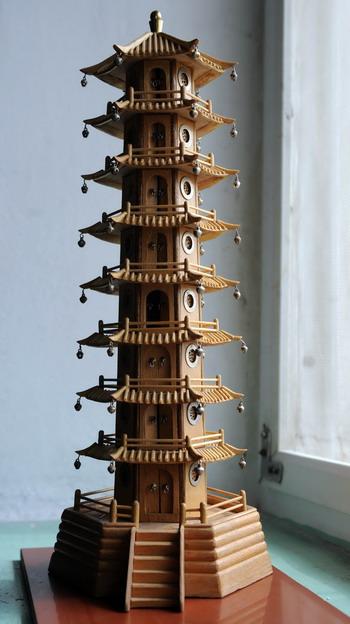 筷子手工作品塔制作步骤