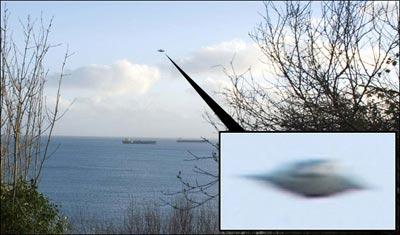 英国文件披露伦敦上空发现上百个不明飞行物 - 外星人给地球的忠告 - UFO 外星人 不明飞行物  图片最新