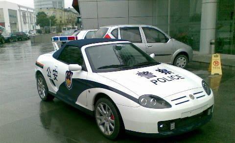 警车_东风悦达起亚狮跑警车模型