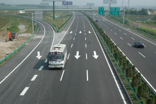 安徽沿江高速与合淮阜高速公路两大干线全线通车
