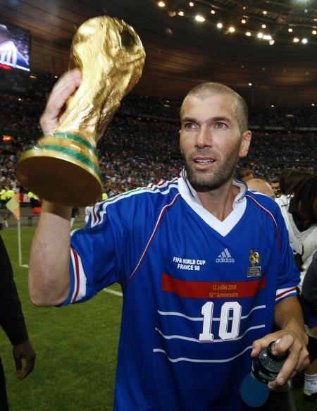 法国世界杯夺冠10周年表演赛