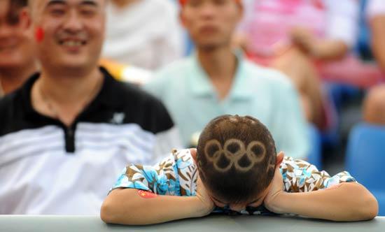 儿童发型雕刻图案文字