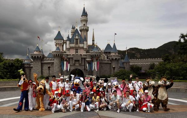 香港迪士尼乐园图片_香港图片风景真实照片