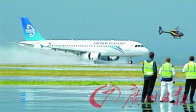 失事飞机属於新西兰航空公司