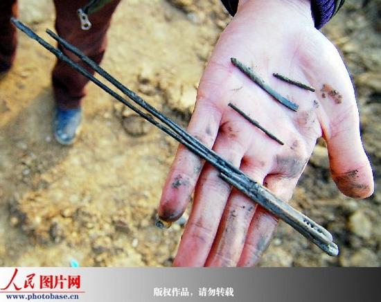 安徽发现一北宋家族墓葬群 已出土文物51件(套)