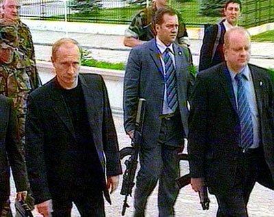 前苏联领导人贴身保镖披露经历 时刻准备开枪图片