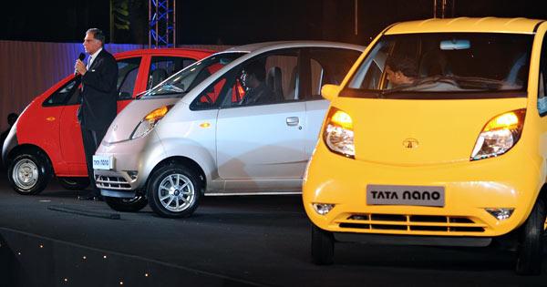 印度全球最廉价汽车 NANO 上市高清图片