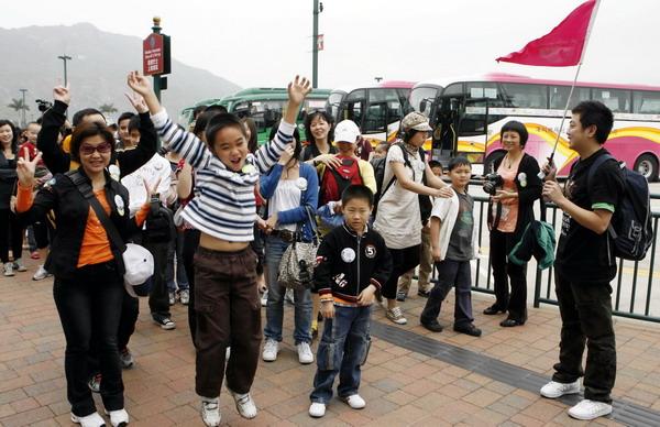 往香港次数的个人旅游签注