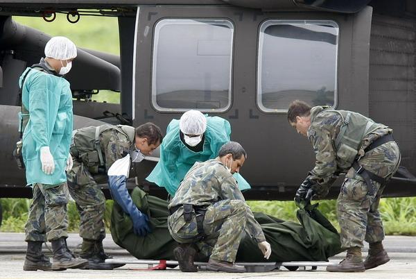 法航失事客机遇难者遗体运抵巴西费尔南多-迪