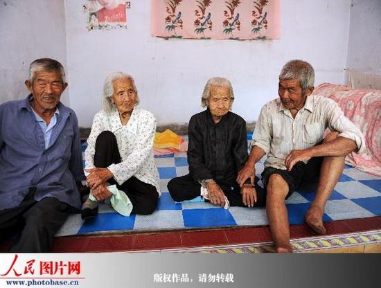 世界年龄最大孪生姐妹——104岁的曹大乔和曹小乔(来源人民网) - 黔中人(田丰) - 黔中人