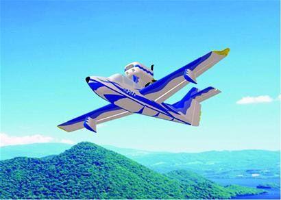 中国自行研制海鸥300海陆两栖飞机明年首飞
