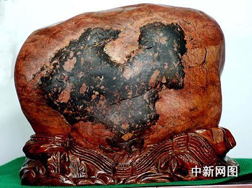 黄河奇石酷似中国版图 被命名祖国万岁(来源人民网) - 黔中人(田丰) - 黔中人